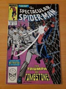 Spectacular Spider-Man #155 Direct Market Edition ~ NEAR MINT NM ~ 1989 Marvel