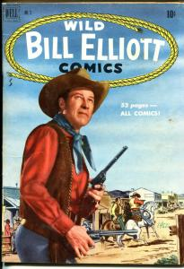 Wild Bill Elliott #3 1951-Dell-photo-B-Western film star-VG/FN