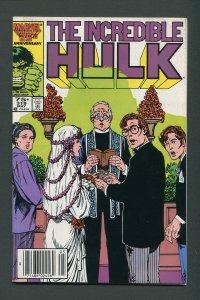 Incredible Hulk #319 / 8.0 VFN  Newsstand  May 1986