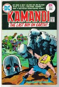 KAMANDI #31, FN+, Jack Kirby, Last Boy on Earth, 1972, more JK in store