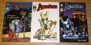 Armature #1-2 VF/NM complete series + white variant SAM KIETH'S THE MAXX CAMEO