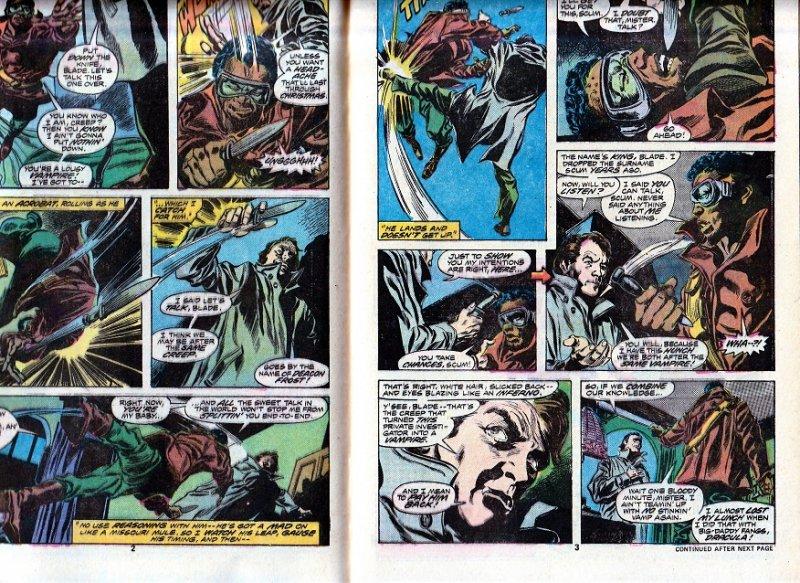 Tomb of Dracula(vol. 1) # 45   The Bride of Dracula ! Blade Vampire Hunter !