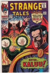 Strange Tales #148 (Sep-66) FN/VF Mid-High-Grade Nick Fury, Dr. Strange
