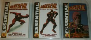 Essential Daredevil vol. 1 2 3 lot of 3 TPBs Stan Lee Wood Roy Thomas Colan
