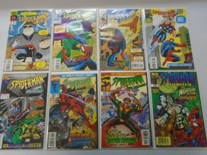 Spider-Man Unlimited comic lot 8 different issues average 8.0 VF (1993-98 1st Se