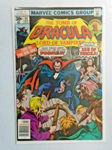 Tomb of Dracula #54 1st Series 5.0 (1977)