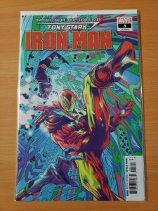 Tony Stark Iron Man #3 (603) ~ NEAR MINT NM ~ 2018 Marvel Comics
