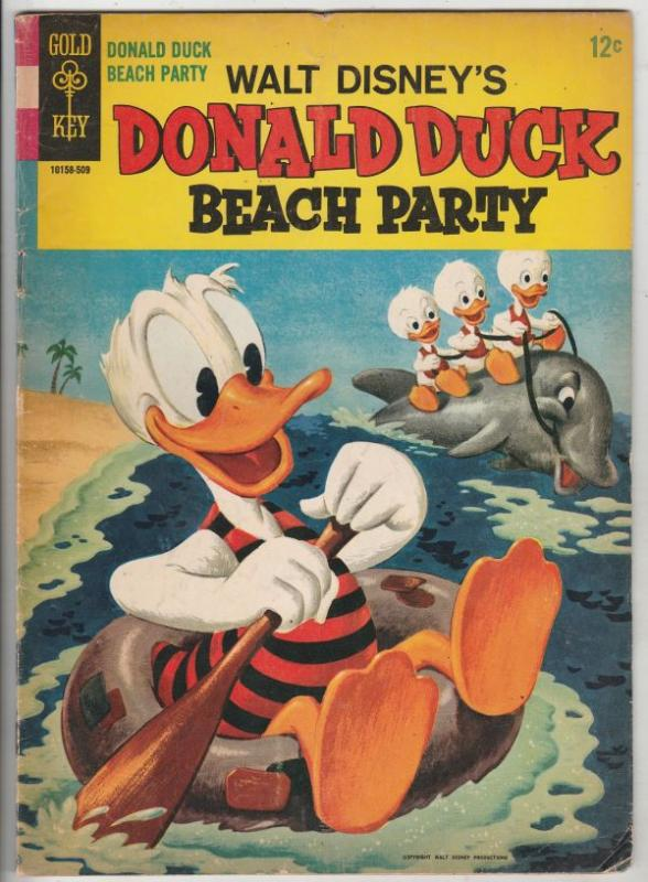 Donald Duck Beach Party #1 (Sep-65) VG/FN+ Mid-Grade Donald Duck