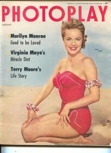 Photoplay-Terry Moore-Marilyn Monroe-Pier Angeli-Richard Widmark-Aug-1954