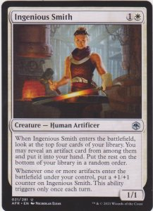 Magic the Gathering: Adventures in the Forgotten Realms - Ingenious Smith