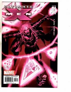 Lot Of 10 Ultimate X-Men Marvel Comic Books # 51 52 53 54 55 56 57 58 59 60 J263
