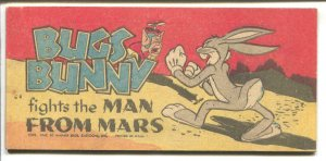 Bugs Bunny Quaker Puffed Wheat Giveaway #C-4 1949-Man From Mars-VG/FN