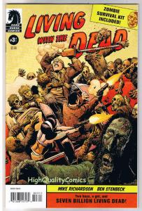 LIVING with the DEAD #3, NM+, Richard Corben, Zombies, 2007, more RC in store