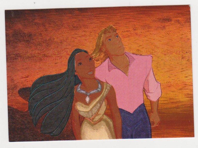 1995 Disney's Pocahontas Foil Etched Card #1