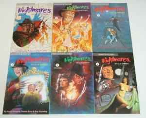 Nightmares on Elm Street #1-6 VF/NM complete series - freddy krueger set 2 3 4 5