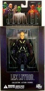 DC Direct Justice League Lex Luthor Figure - Series 5 - Mint in Box