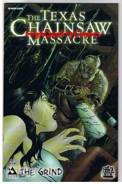 TEXAS CHAINSAW MASSACRE : GRIND #2, NM+, Avatar, 2006, more Horror in store