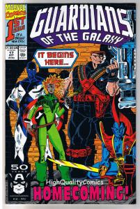 GUARDIANS of the GALAXY 17 18 19 20, NM+, StarHawk, Punisher, 1990