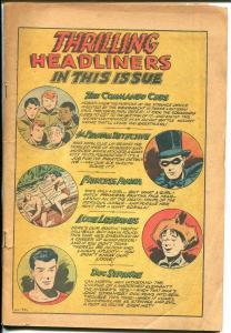 Thrilling #57 1946-Nedor-Princess Pantha-Phantom Detective-Doc Strange-Mayo-P