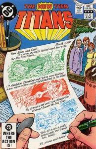 New Teen Titans (1980 series) #20, NM- (Stock photo)