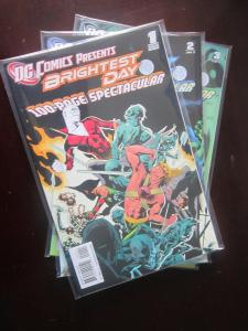 DC Comics Presents Brightest Day Spectacular #1 to #3 set - VF - 2010