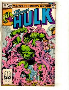 11 The Incredible Hulk Marvel Comics 280 299 301 346 357 380 381 382 384 + J331