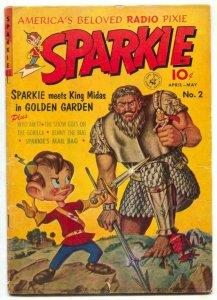 Sparkie #2 1952- King Midas Golden Garden FN-
