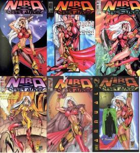 NIRA X CYBER ANGEL (1996 ENTITY) 0-4,Annuall  COMPLETE!