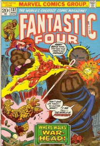 Fantastic Four (Vol. 1) #137 VG; Marvel   low grade comic - save on shipping - d