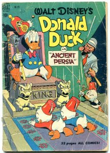 Donald Duck in Ancient Persia- Four Color Comics #275 1950 G