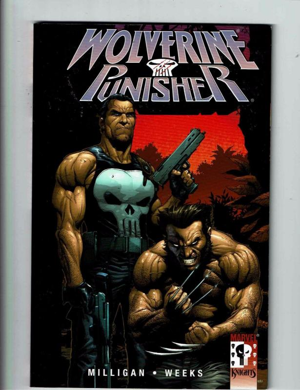 Wolverine Punisher Marvel Knights Graphic Novel TPB Milligan Weeks Comic CB9