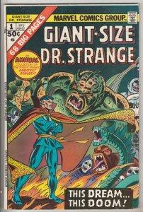 Giant-Size Doctor Strange #1 (Nov-75) NM- High-Grade Dr.Strange