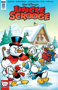 UNCLE SCROOGE #22 1:10 RETAILER INCENTIVE VARIANT COVER NM.