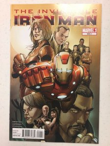 Invincible Iron Man #500.1 Comic Book Marvel 2011