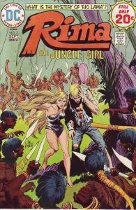 Rima the Jungle Girl #3 (Sep-74) NM- High-Grade Rima the Jungle Girl