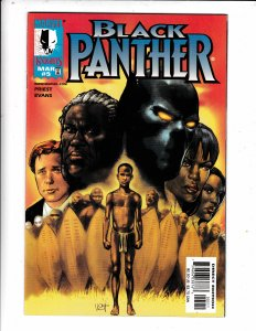 Black Panther #5  VF/FN   MARVEL KNIGHTS COMICS