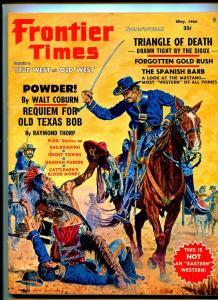 FRONTIER TIMES MAY 1966-WESTERN PUBLISHING-WALT COBURN-FN