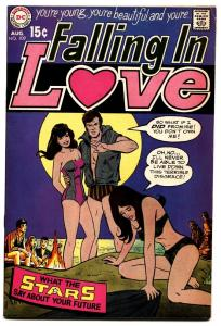 FALLING IN LOVE #109 high-grade 1969-DC ROMANCE COMICS-SWIM SUIT