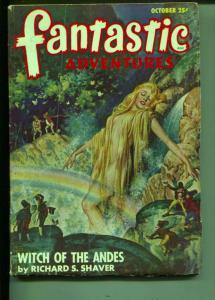 Fantastic Adventures-Pulp-10/1947-Richard S. Shaver-Rog Phillips
