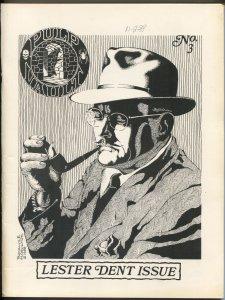Pulp Vault #3 1988-Lester Dent tribute-Fu Manchu-Ki-gor-Hitler-FN