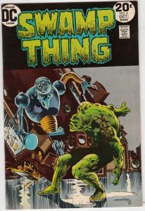 Swamp Thing #6 (Oct-73) NM Super-High-Grade Swamp Thing