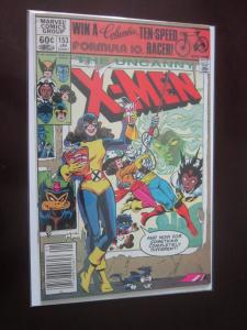 Uncanny X-men #153 Newsstand - 8.0 - 1981