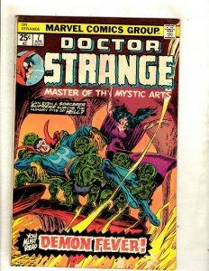 Lot Of 6 Doctor Strange Marvel Comic Books # 7 (VG) 8 9 10 11 12 (FN/VF) RS1