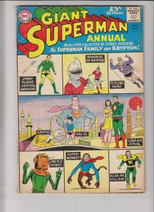 Superman Annual #5 VG summer 1962 - 80 page giant - superman family on krypton
