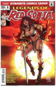 LEGENDS of RED SONJA #4, VF+, She-Devil, Sword,  Thorne, 2014,more RS in store