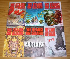We Stand on Guard #1-6 VF/NM complete series - brian k. vaughan - Canada vs USA
