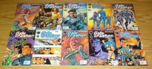Gatecrasher #1-6 VF/NM complete series + ring of fire 1-4 waid & amanda conner