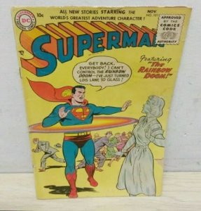 Superman #101 10 Cent Golden Age Comic Book Lois Lane RARE OVER 70 YRS OLD