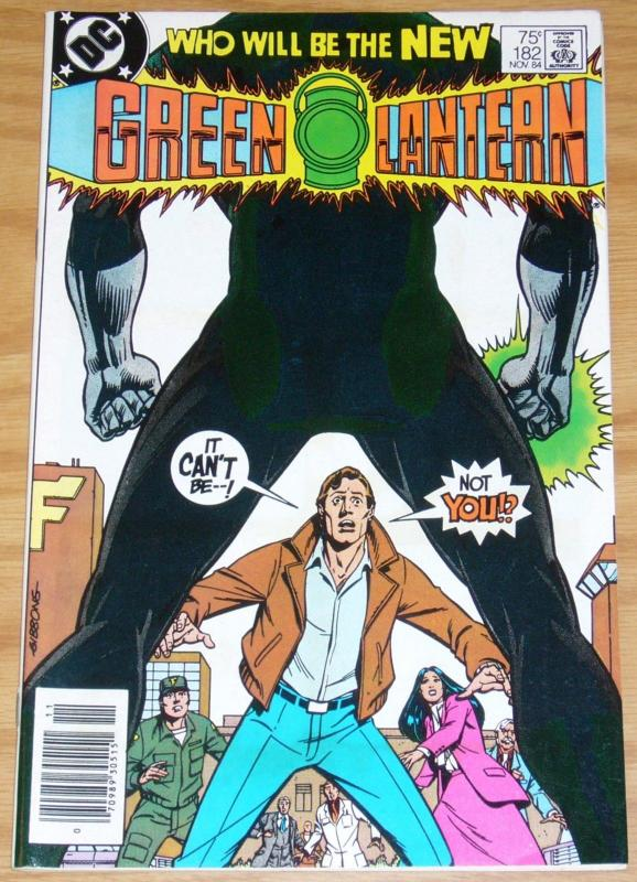 Green Lantern #182; DC | John Stewart takes over - newsstand edition
