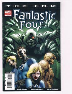 Fantastic Four The End # 1 Of 6 NM Marvel Comics Limited Series Human Torch S80